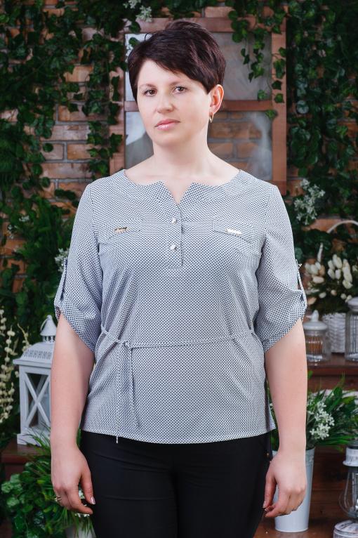Элегантная женская блуза б-6090