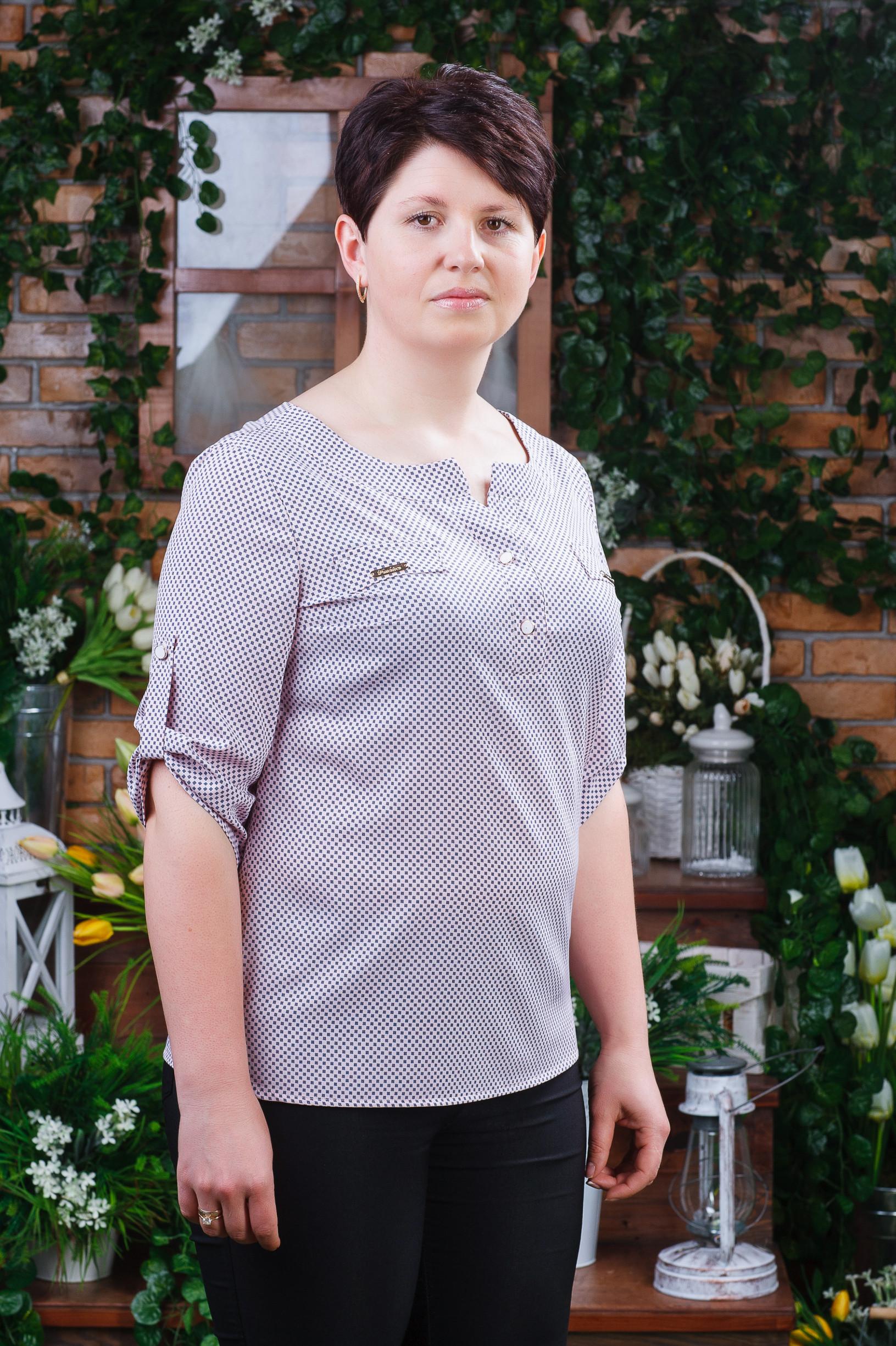 Элегантная женская блуза б-6091