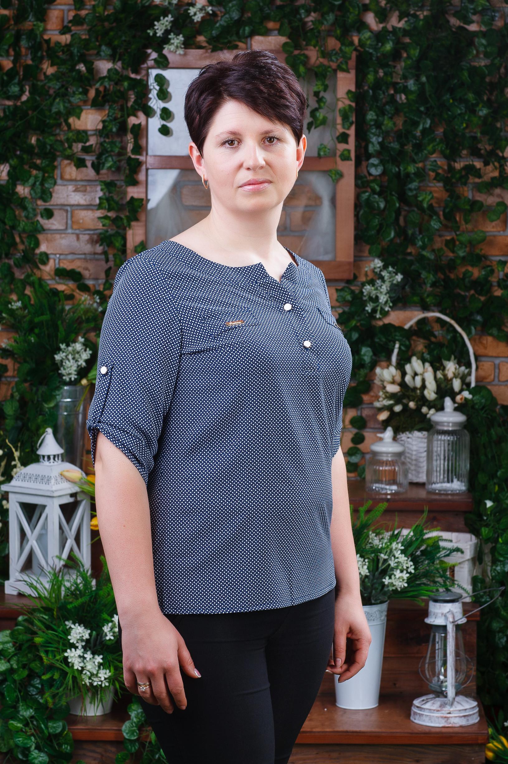 Элегантная женская блуза б-6092
