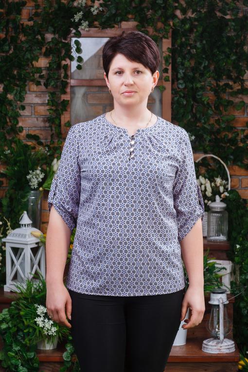 Женская блуза б-6121