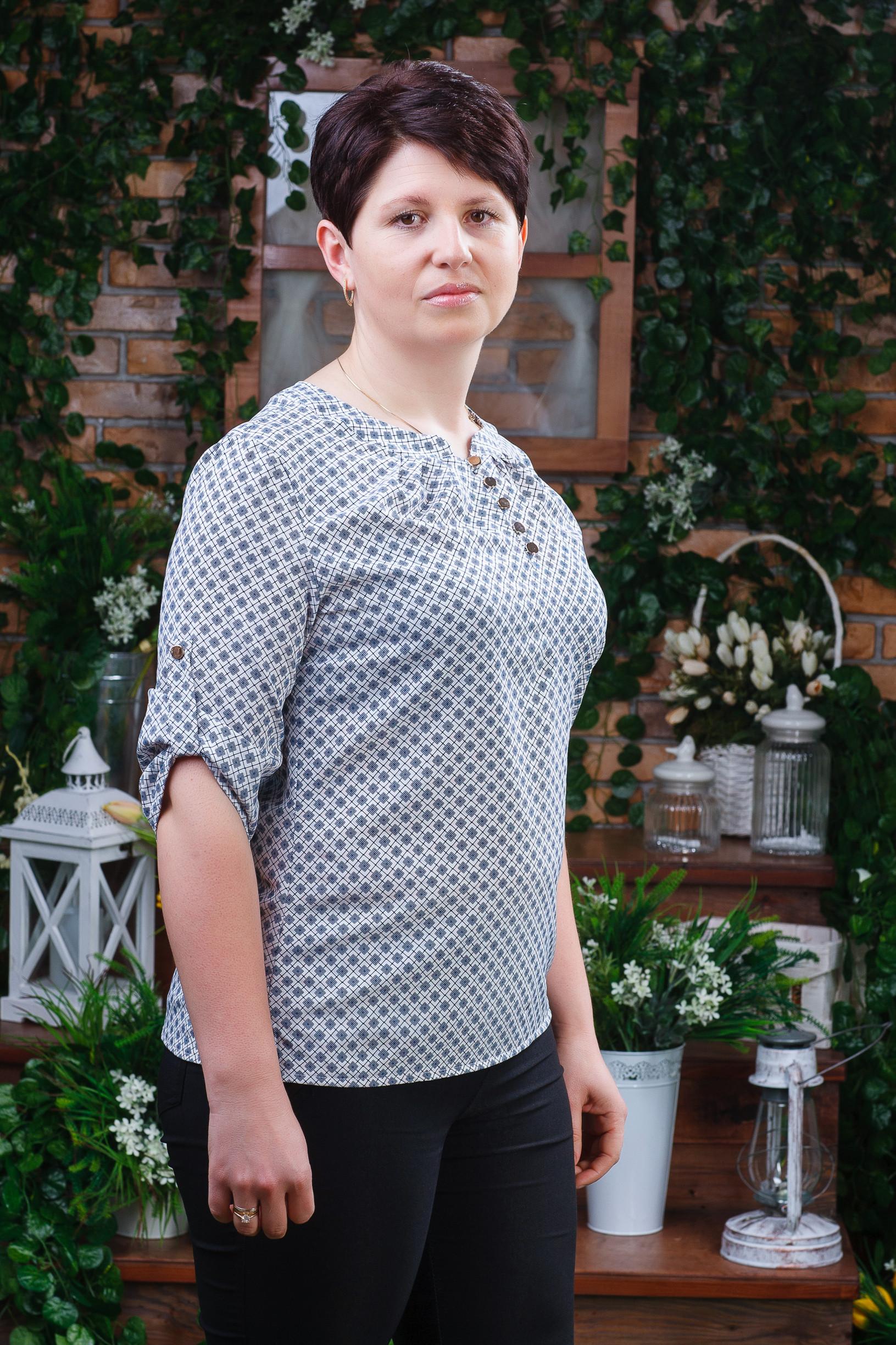 Женская блуза б-6122