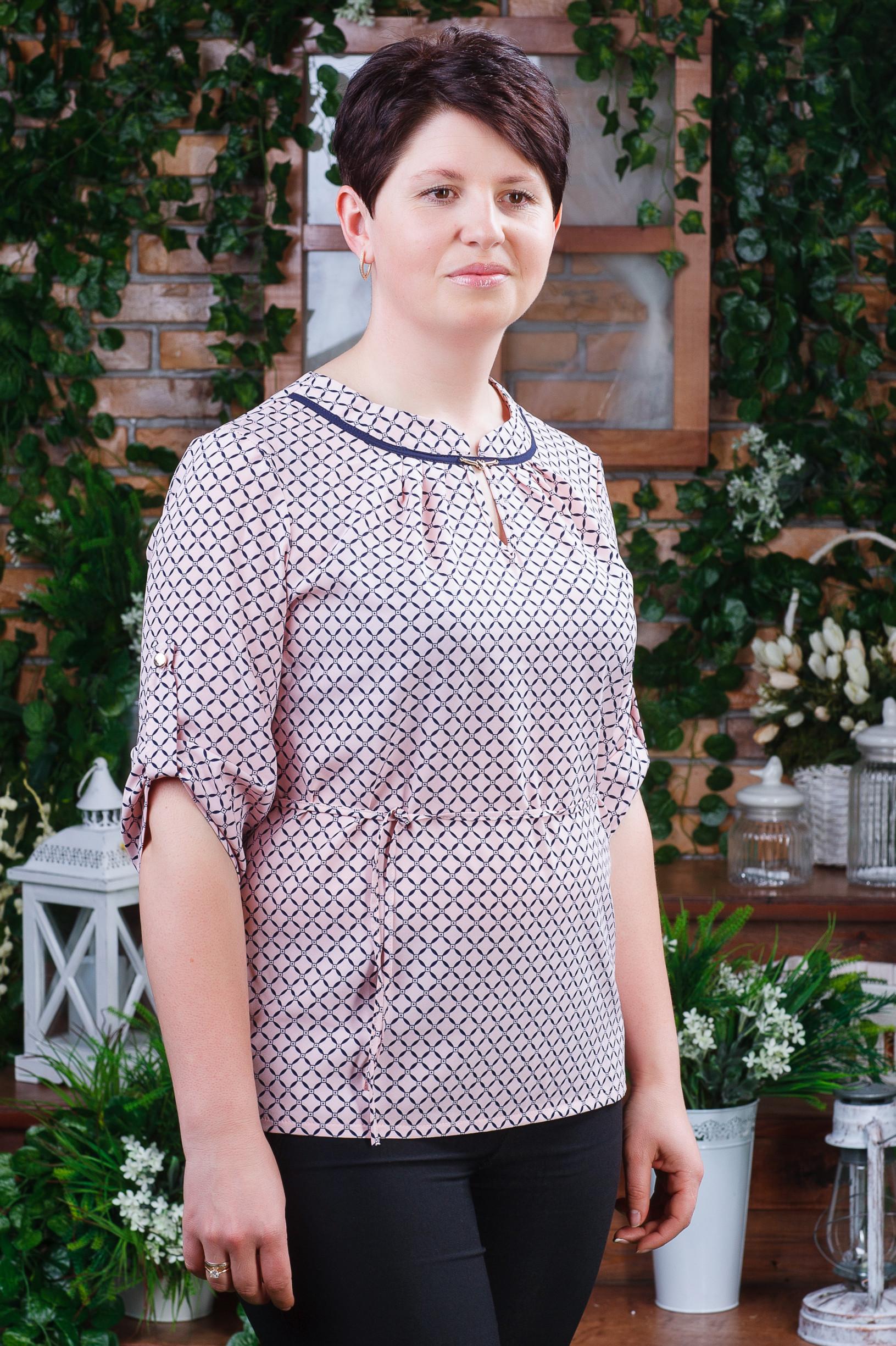 Летняя женская блуза б-6200