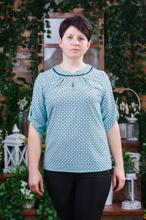 Летняя женская блуза б-6202