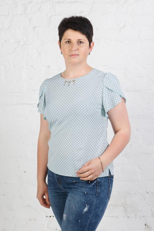 Легкая женская блуза б-625