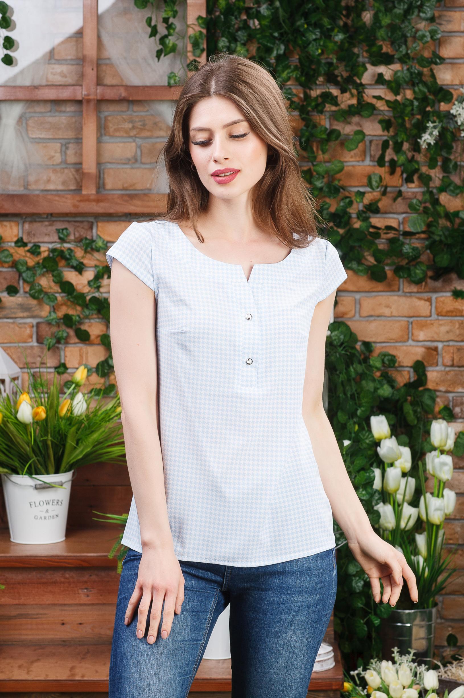 Легкая блуза женская Б-4431