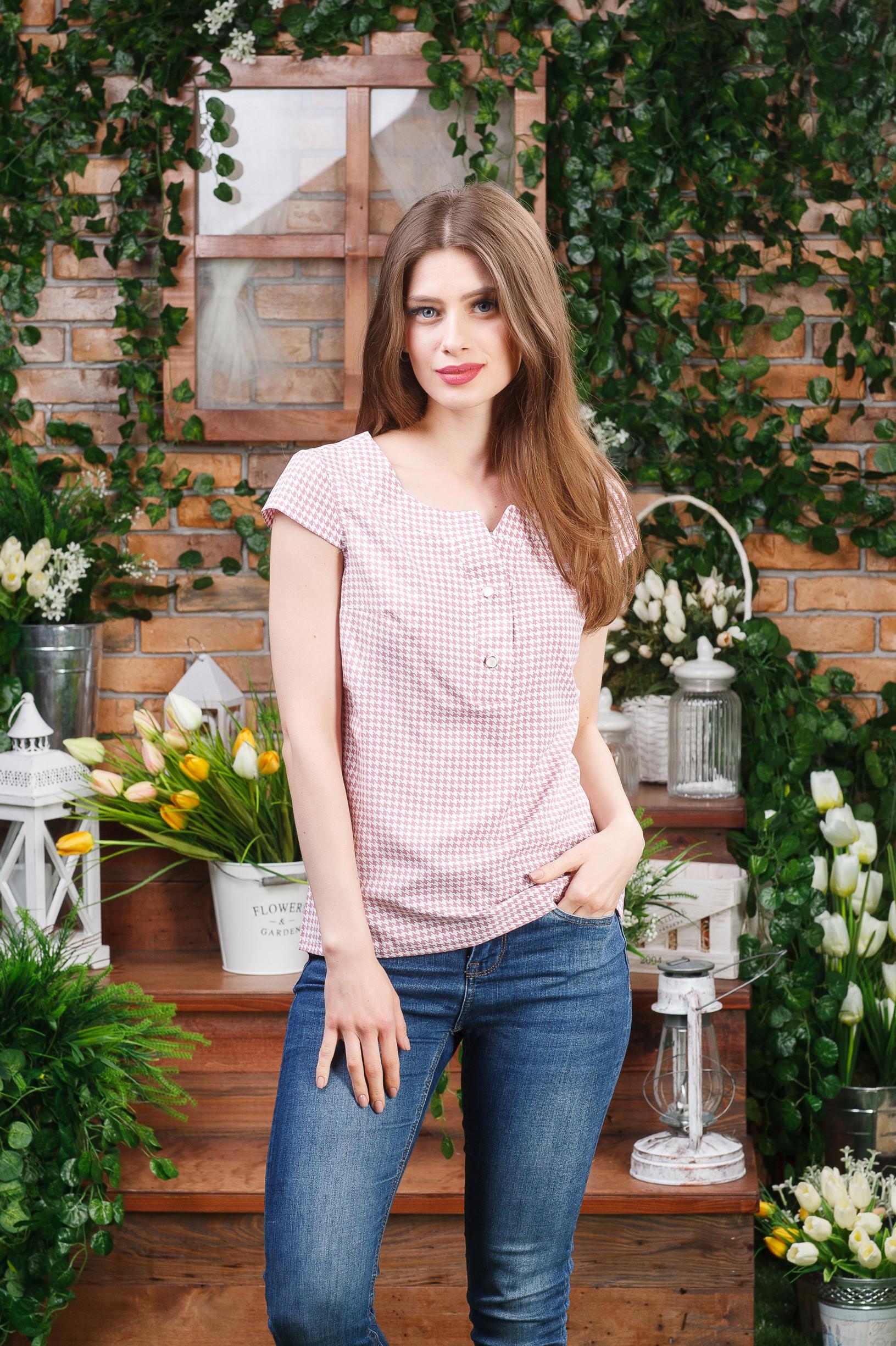 Легкая блуза женская Б-4432