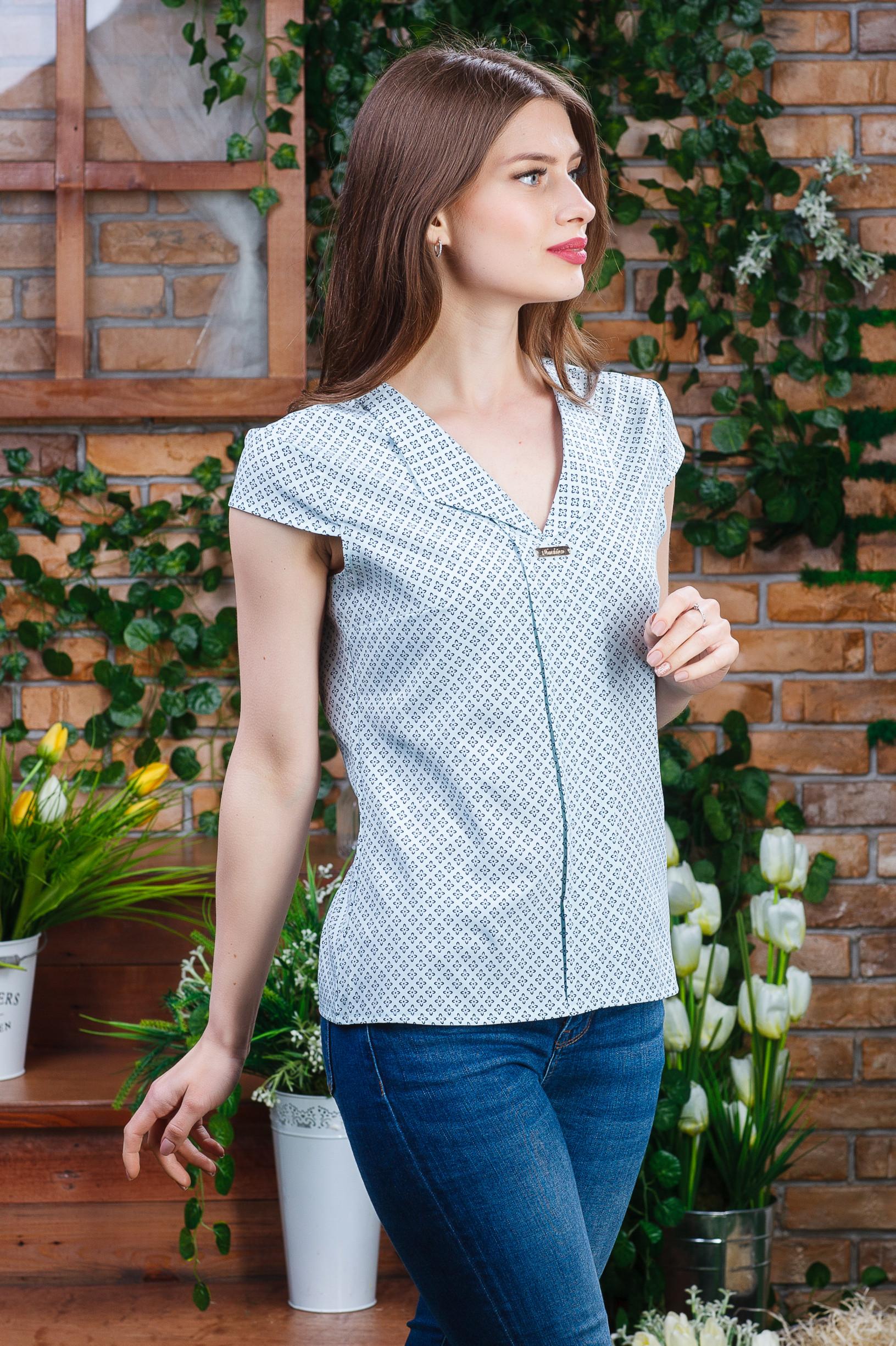 Летняя блуза для девушки б-5920