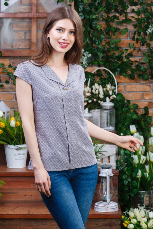 Летняя блуза для девушки б-5922