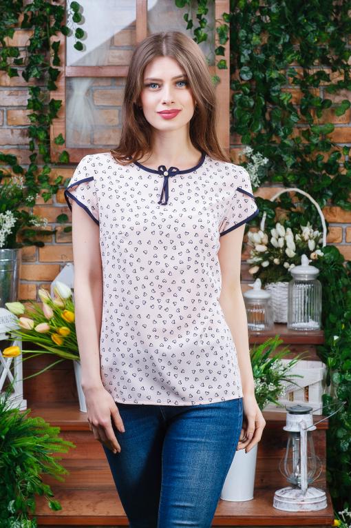 Блуза для девушки летняя б-6032