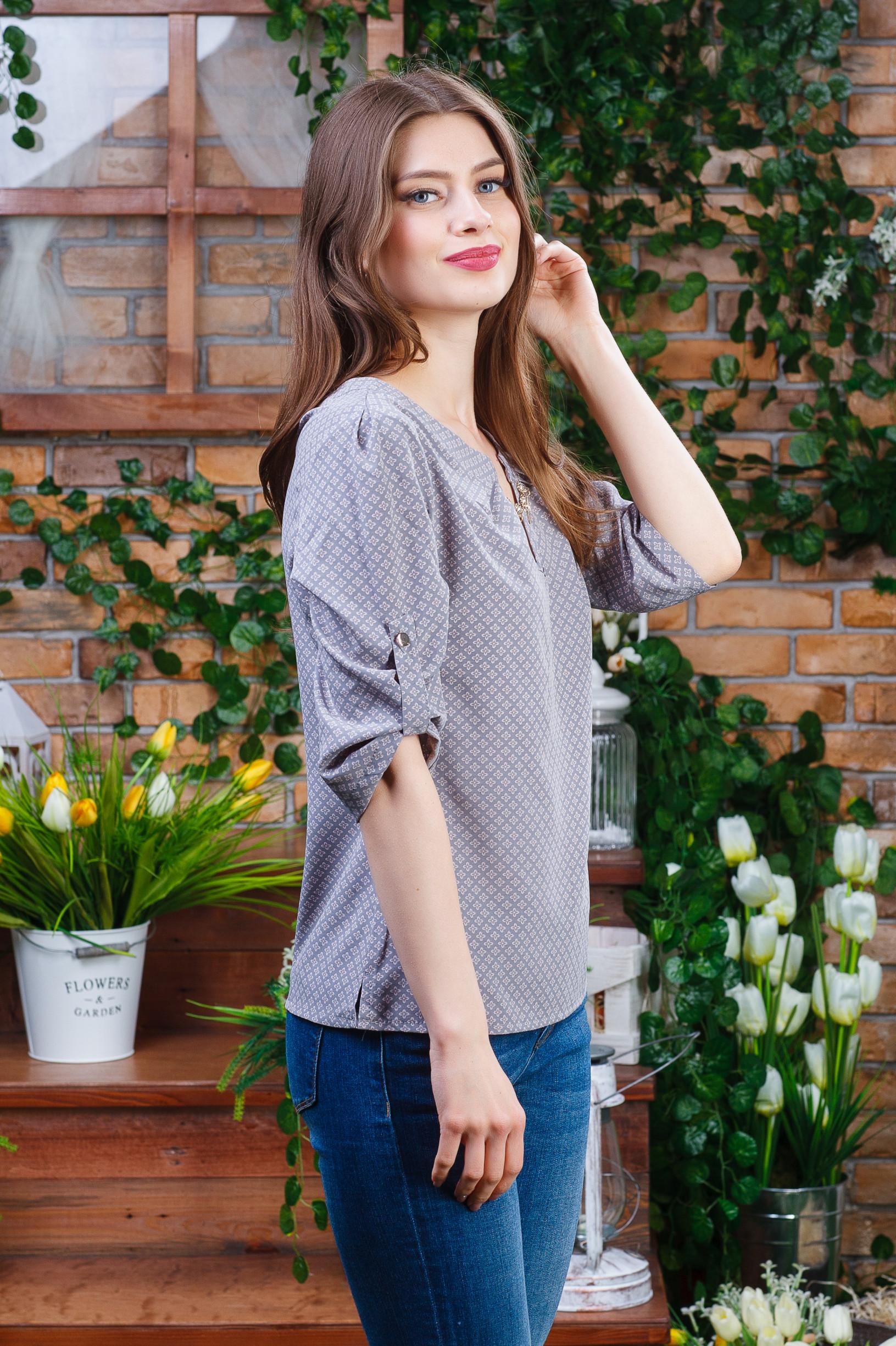 Летняя блуза маленьких размеров б-6110
