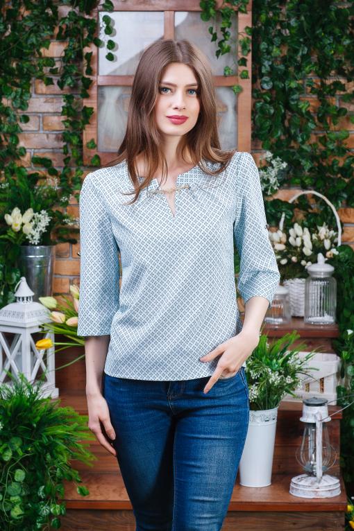 Летняя блуза маленьких размеров б-6111
