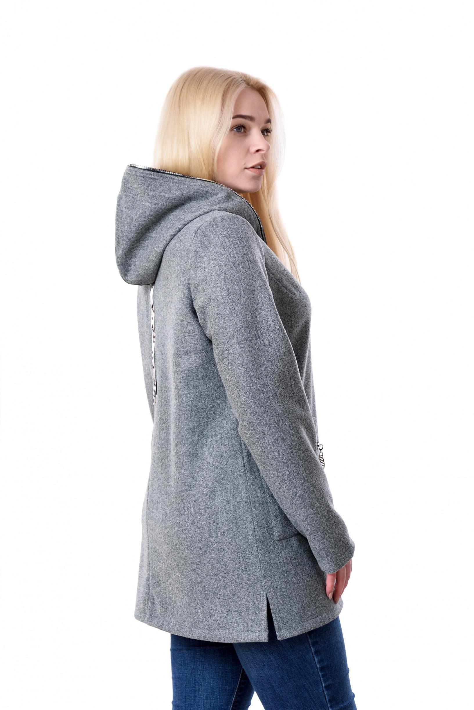 Женский весениий серый кардиган Мерил