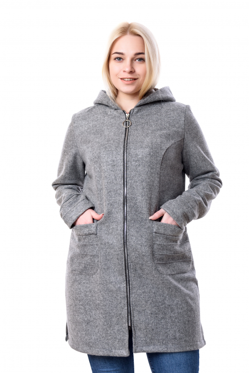 Женский кашемировый серый кардиган Виви
