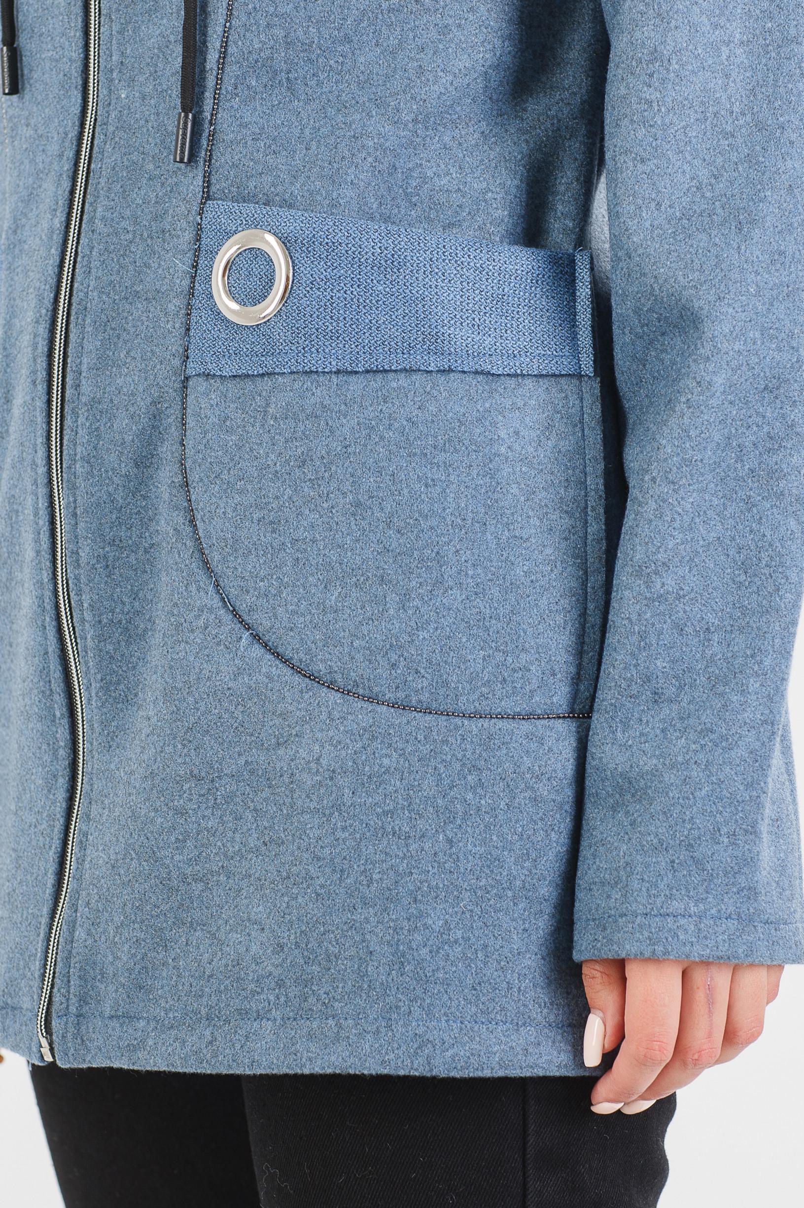 Стильный джинсовый кардиган Ости