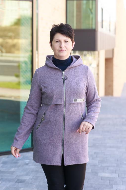 Фиолетовый женский кардиган Инна