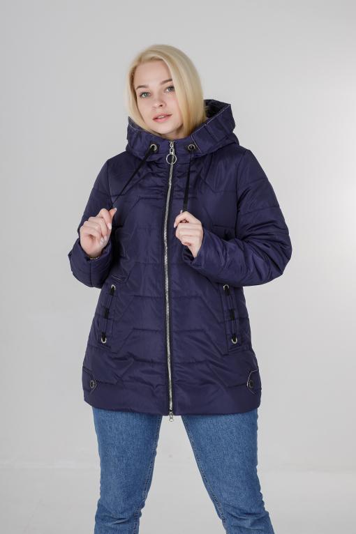 Жіноча весняна куртка Кейсі синя