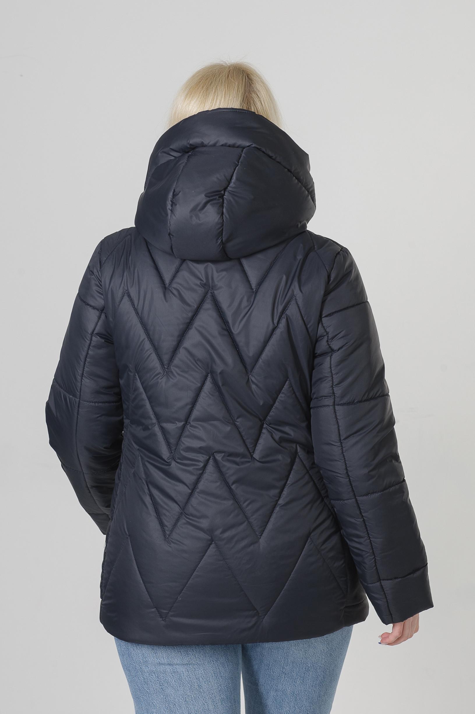 Весенняя синяя куртка большого размера Ноа