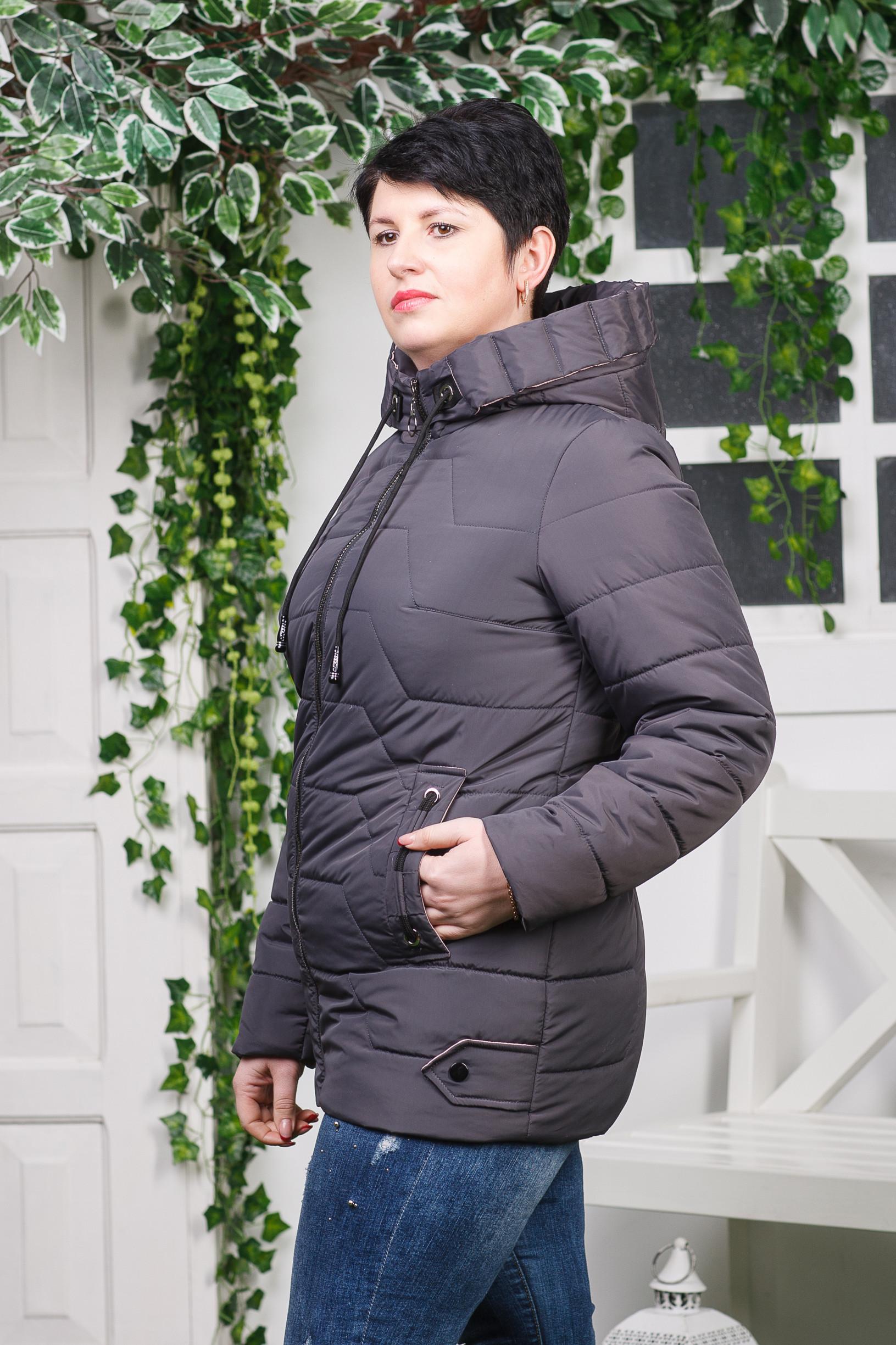 Жіноча весняна куртка Кейсі фіолет