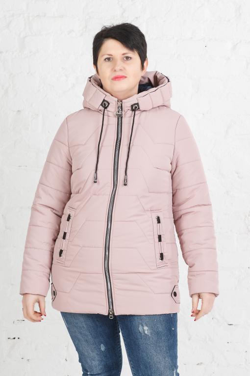 Женская весенняя куртка Кейси пудра