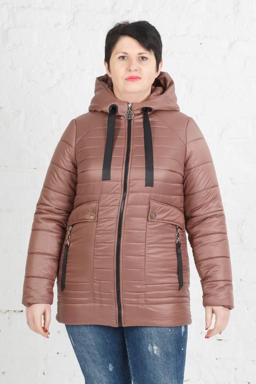 Женская куртка Клер терракот