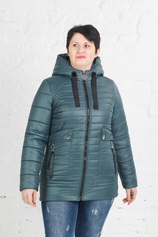 Женская куртка Клер бирюза