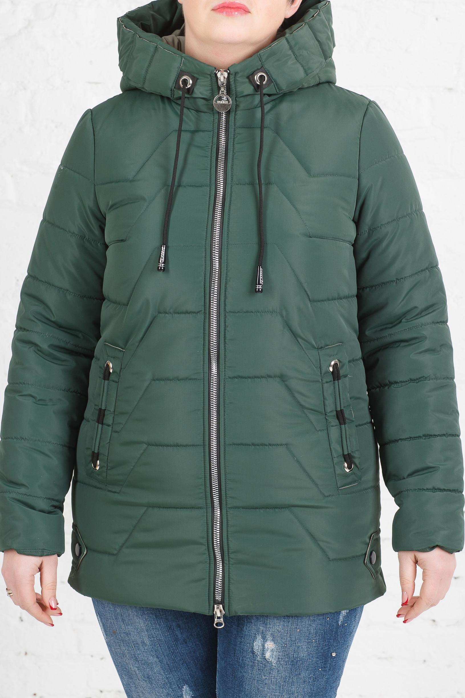 Женская весенняя куртка Кейси зелёная