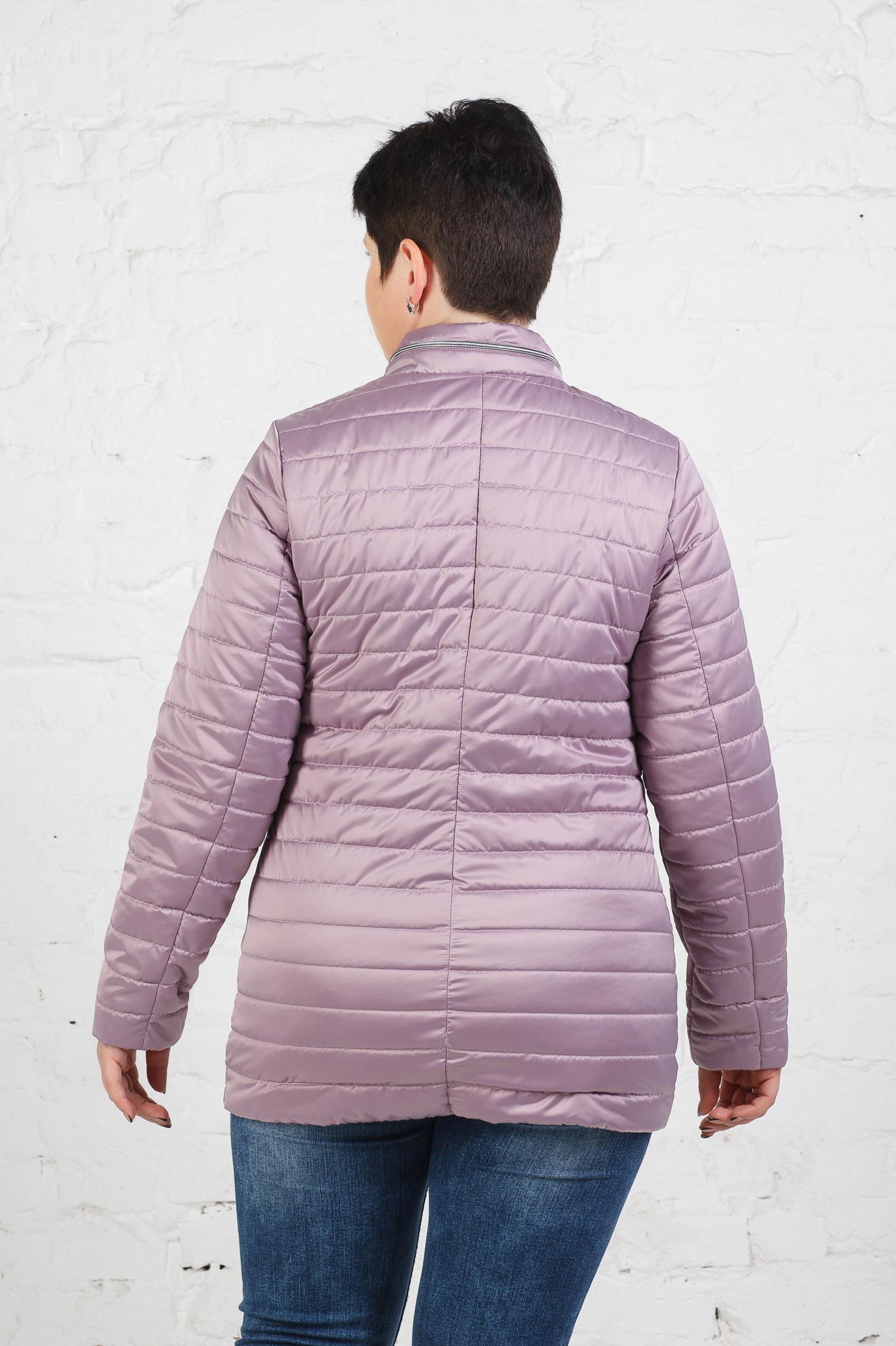 Легкая куртка-пиджак Хельга пудра