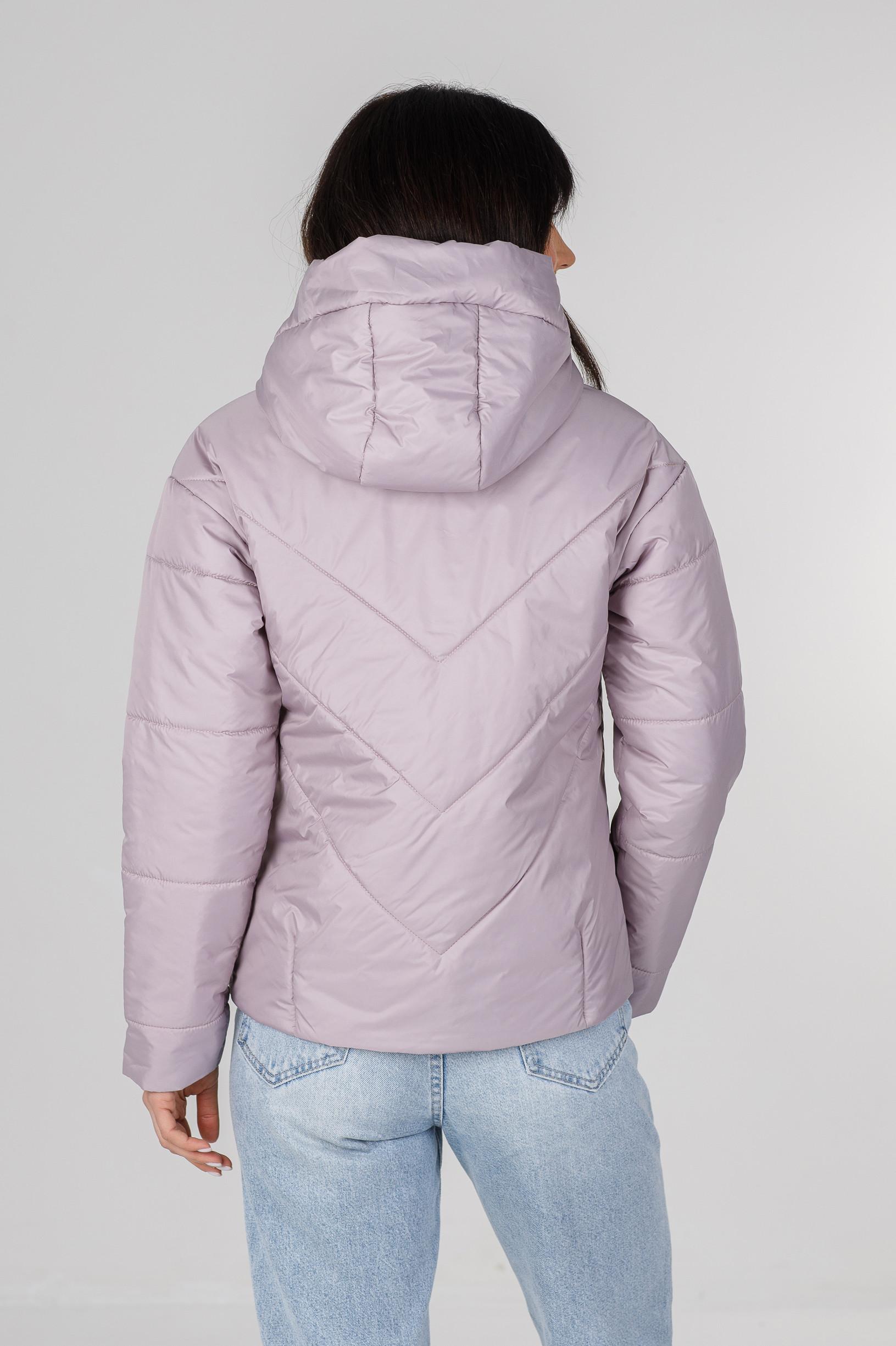 Стильная нежно-розовая весенняя куртка Ася