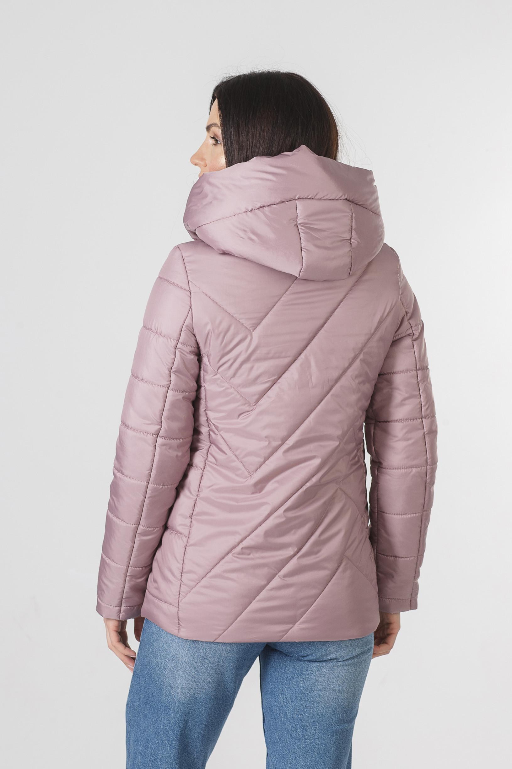 Демисезонная розовая курточка Хайди