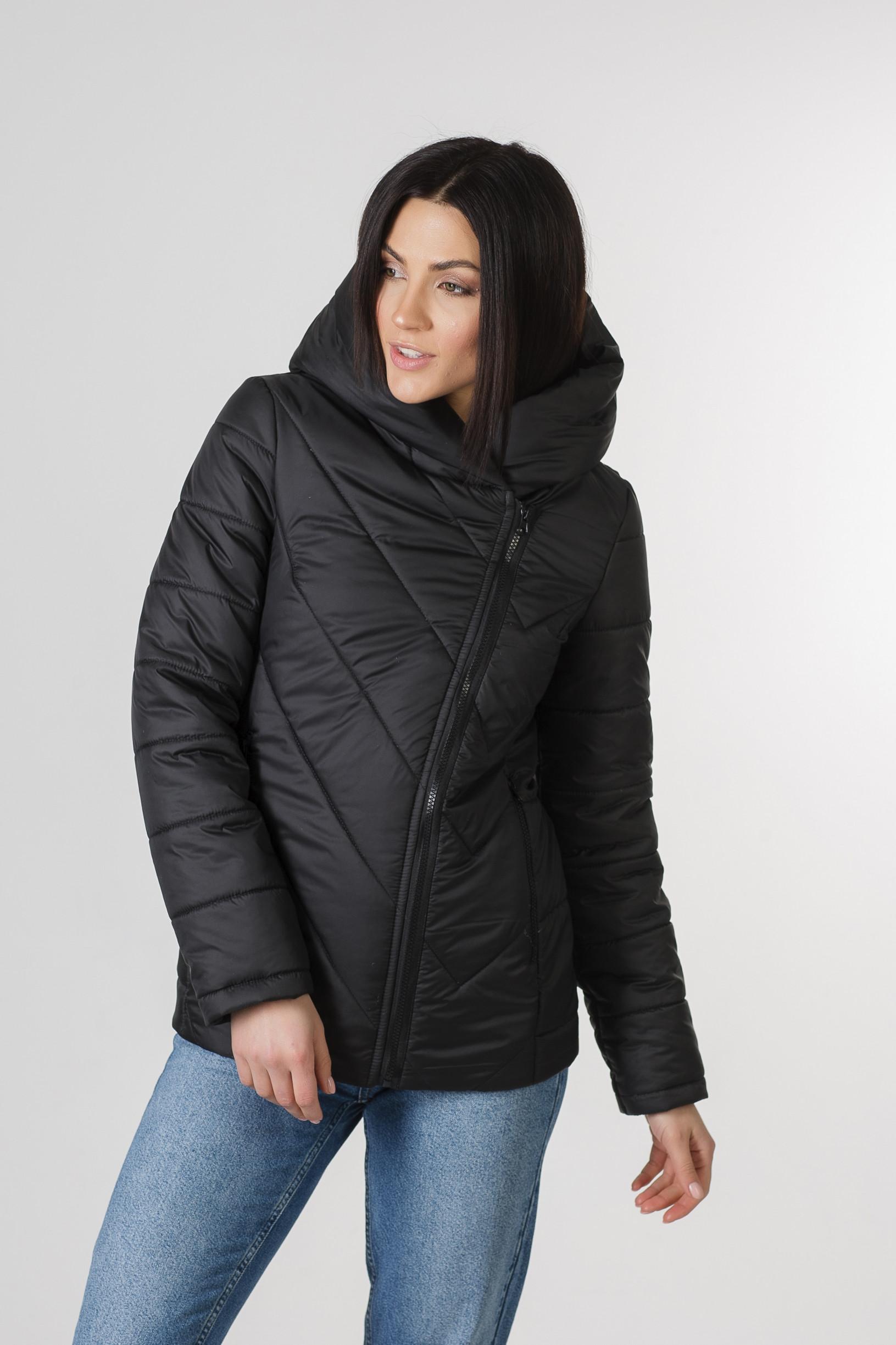 Весенняя чёрная курточка Хайди