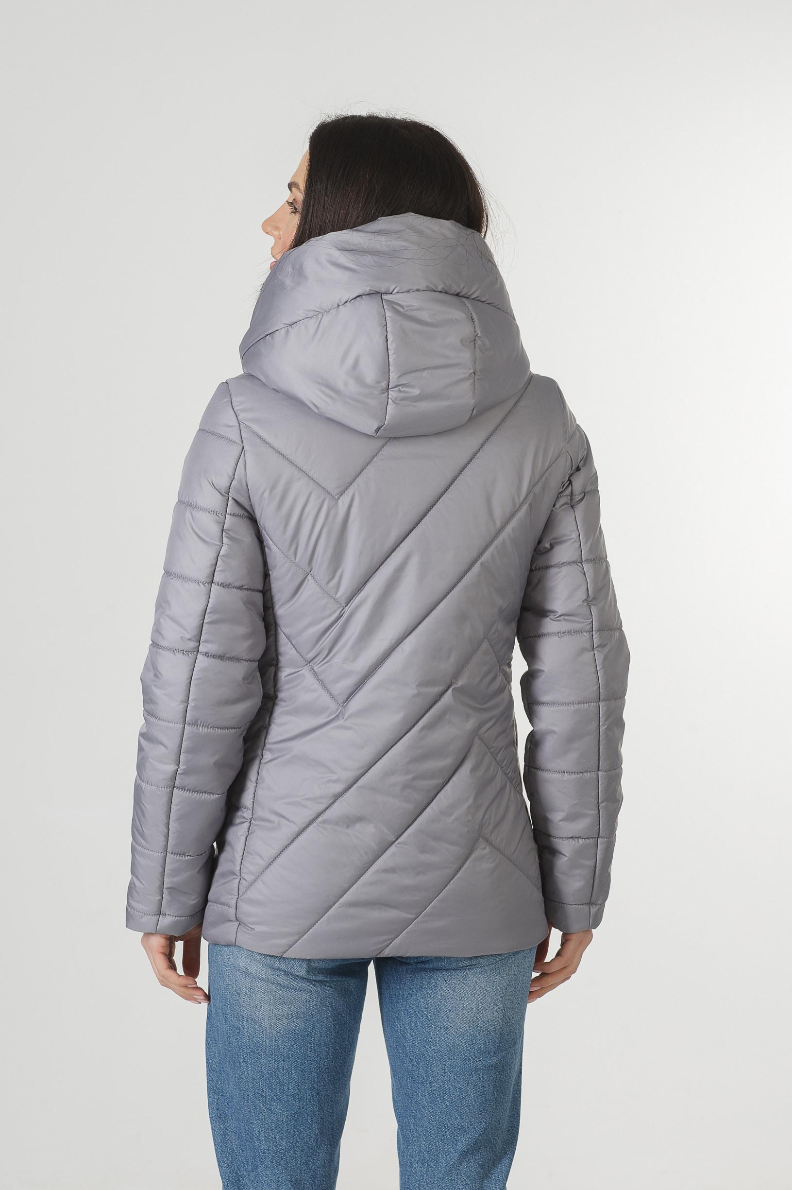 Демисезонная серая курточка Хайди