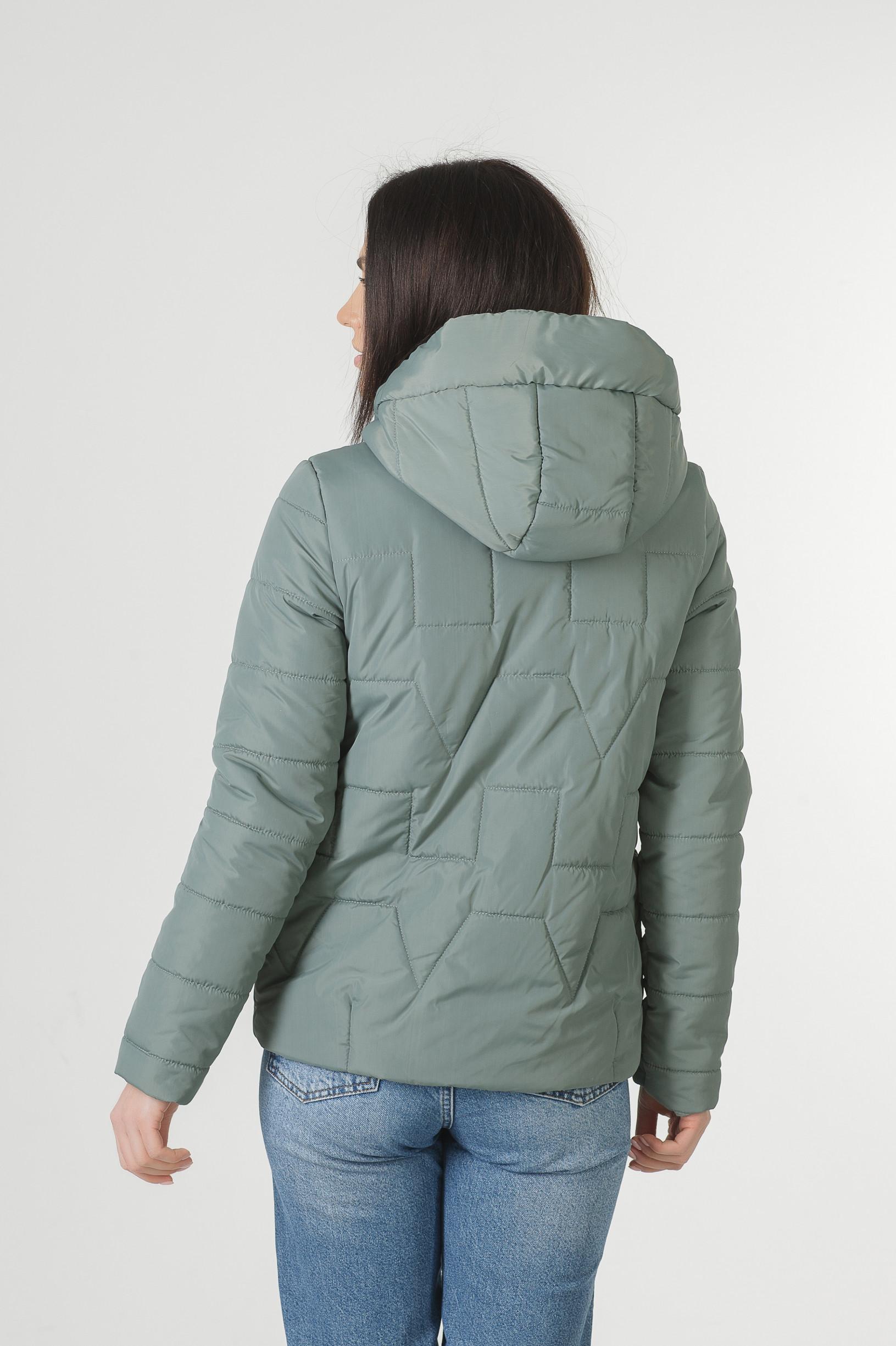 Молодёжная мятная весенняя куртка Дебби