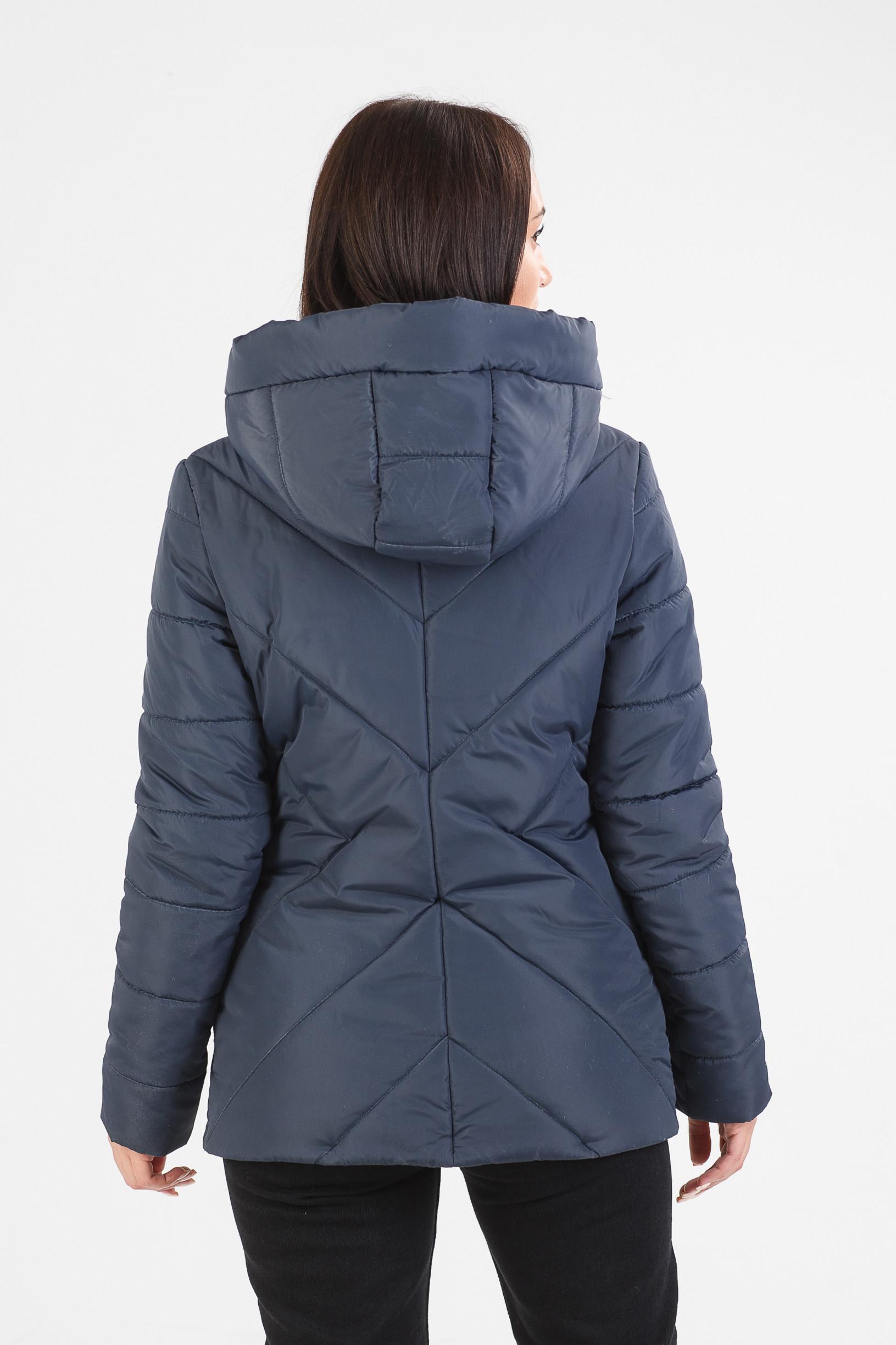 Стильная синяя куртка Обри