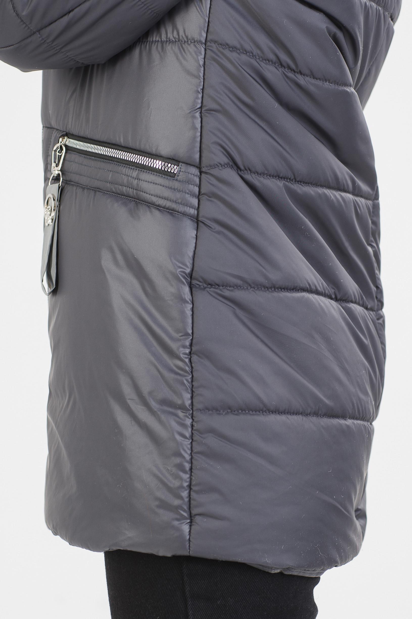 Фиолетовая демисезонная куртка Стар