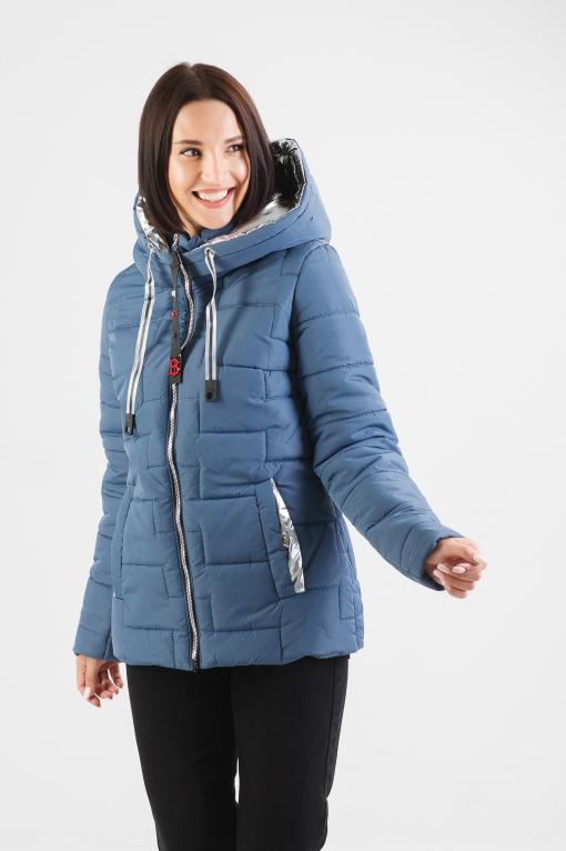 Куртка голубая демисезонная Изи