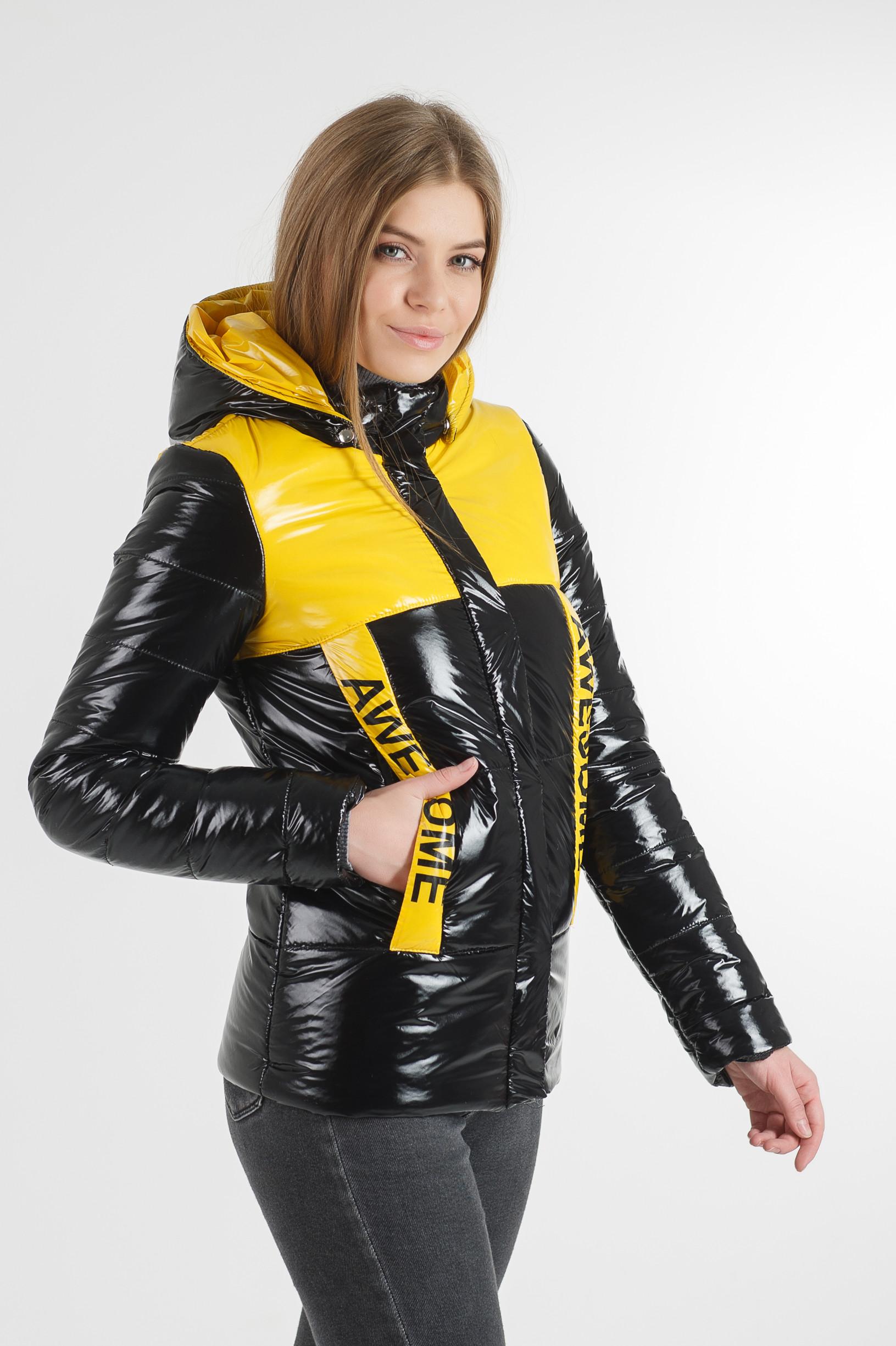 Молодёжная чёрная куртка Лол