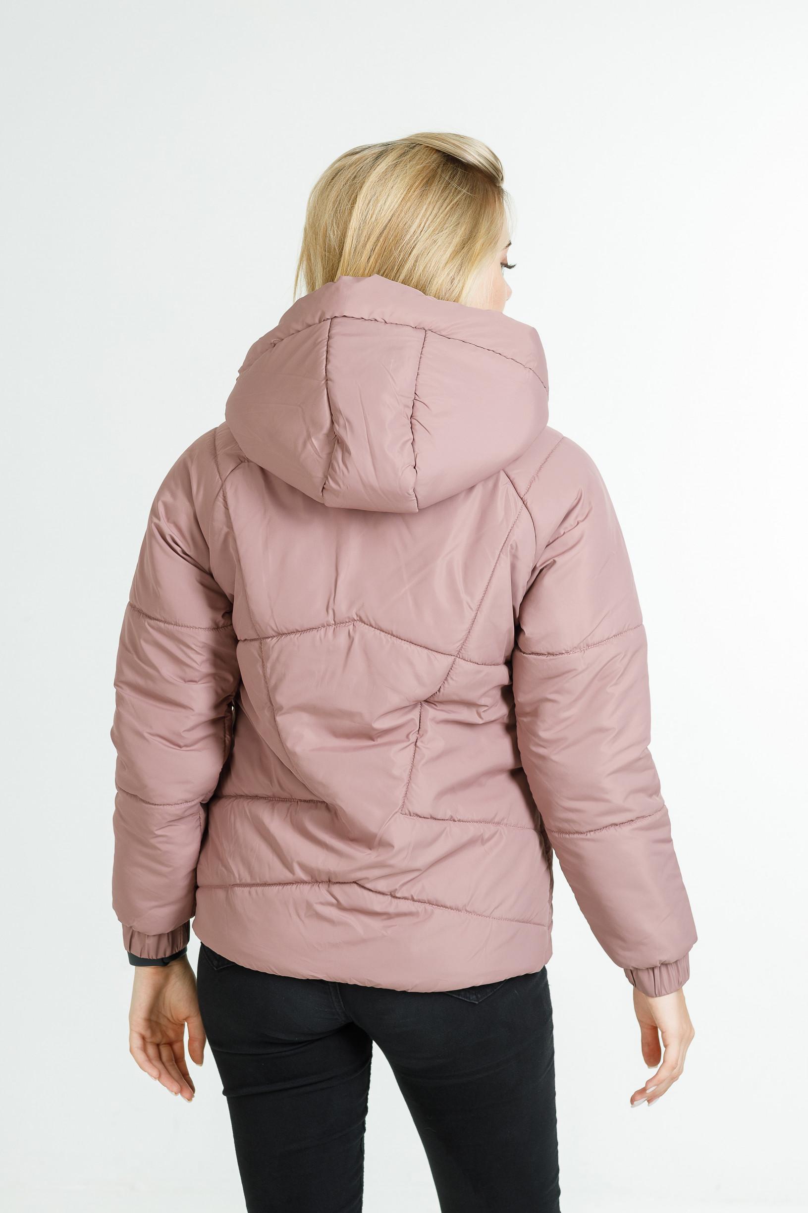 Демисезонная куртка Берри розового цвета