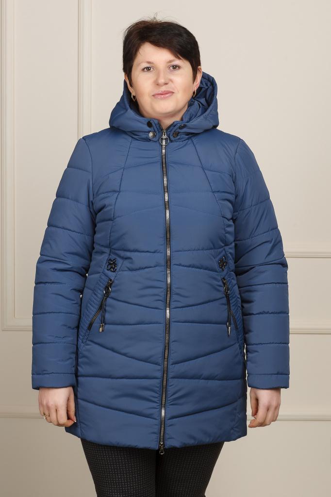 Куртка весенняя Нина джинс