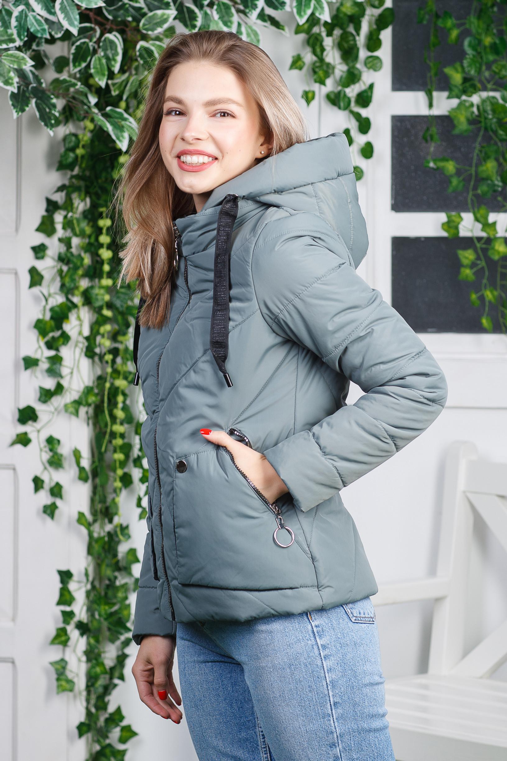 Демисезонная куртка Обри фисташка