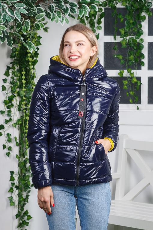Ультрамодная куртка Пепси синяя