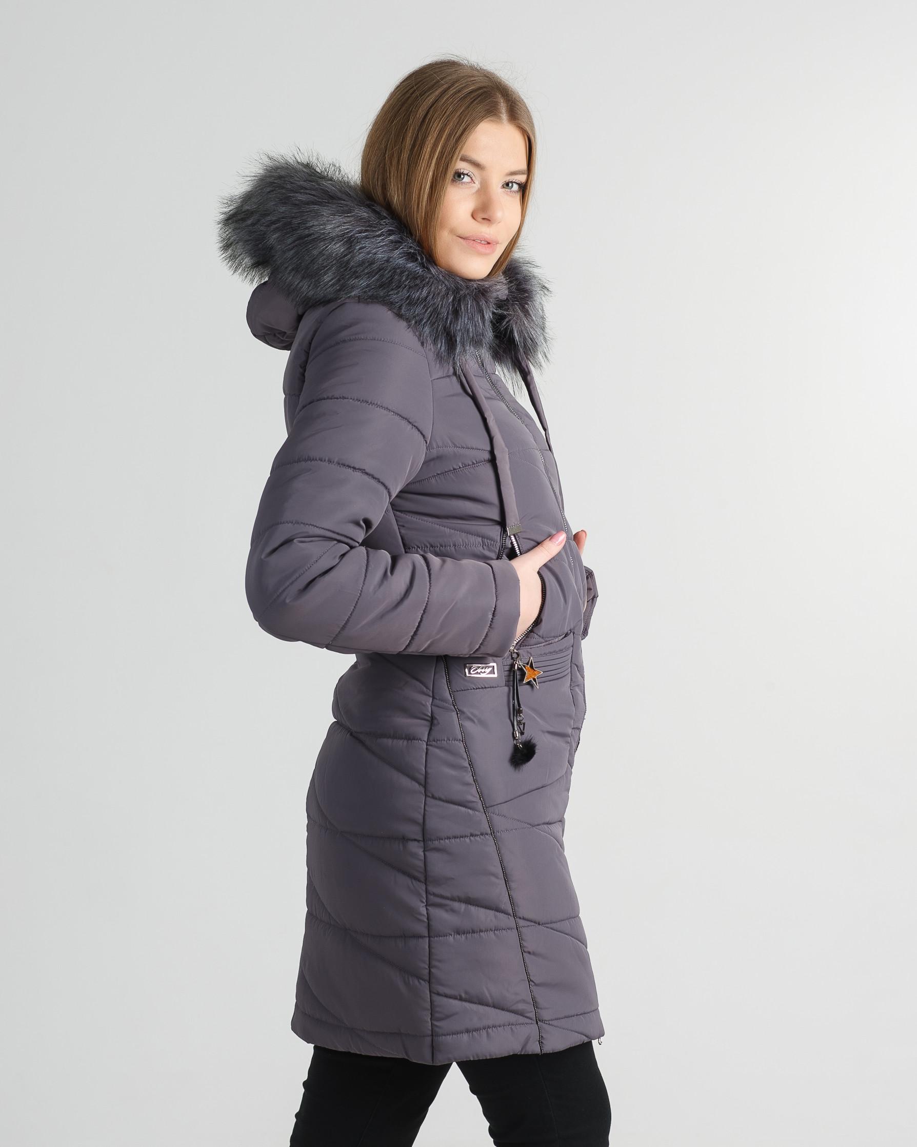 Зимнее пальто Руся капучино