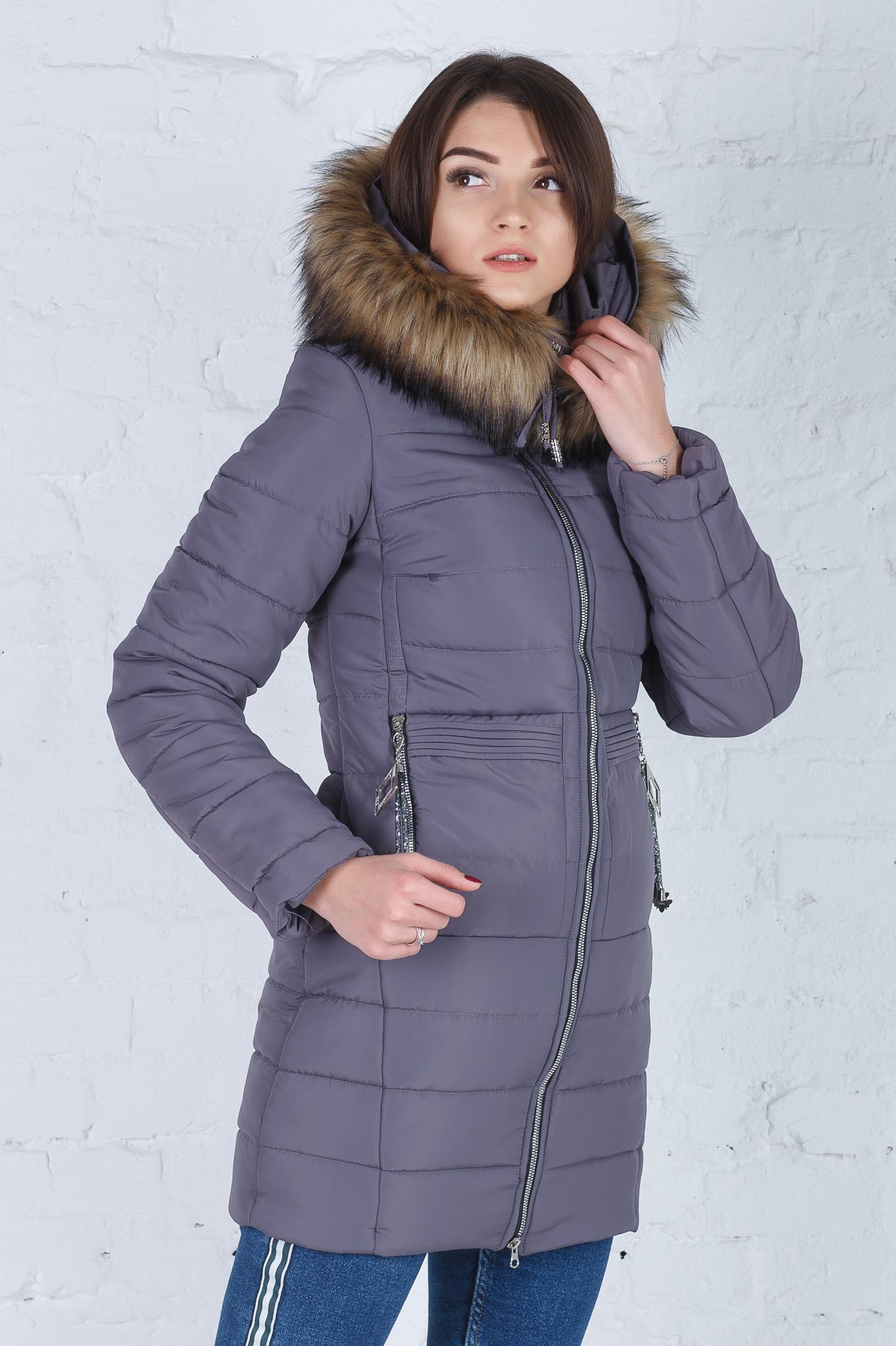 Зимняя куртка Герда новая капучино