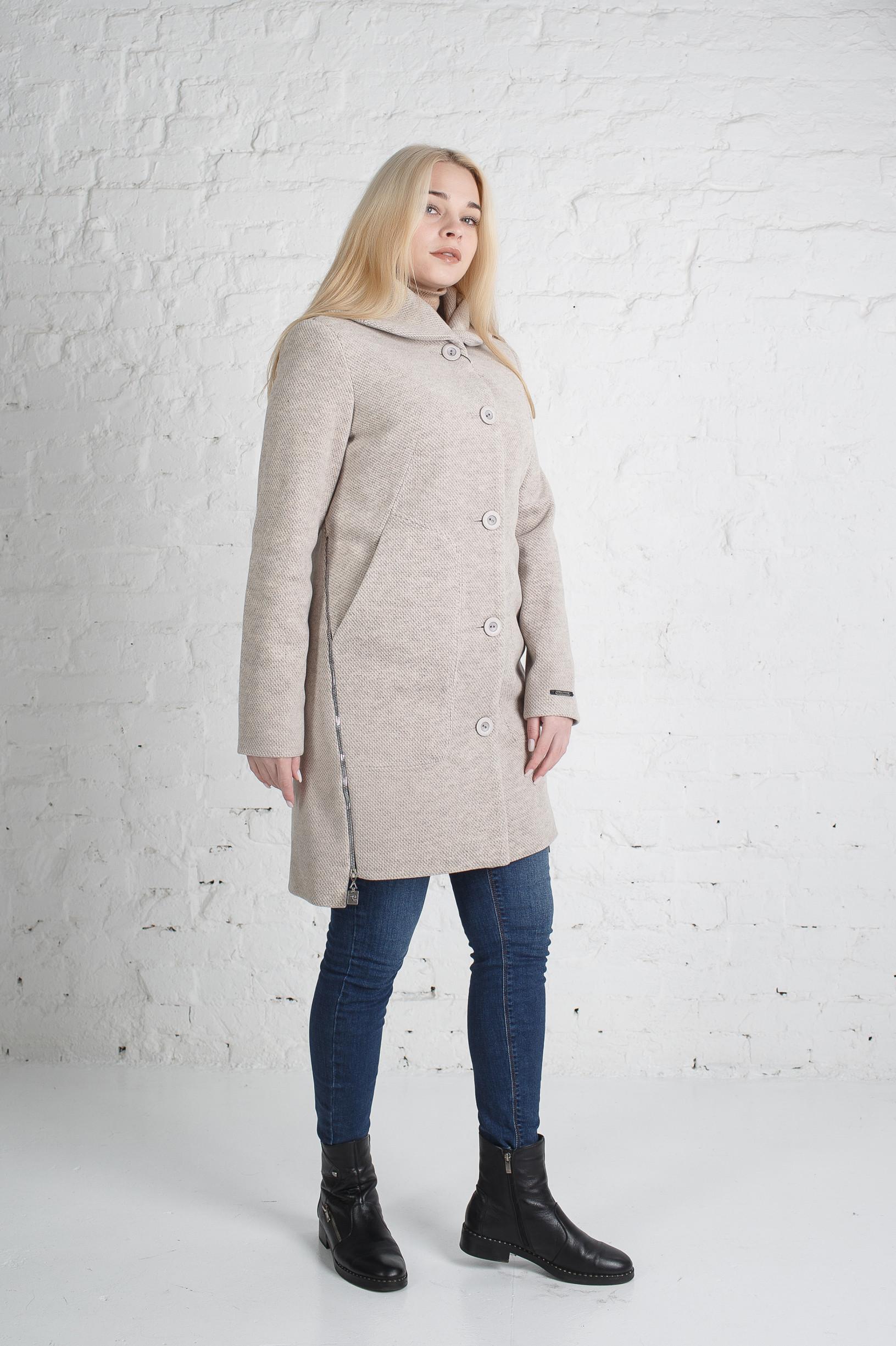 Жіноче бежеве пальто Поліна