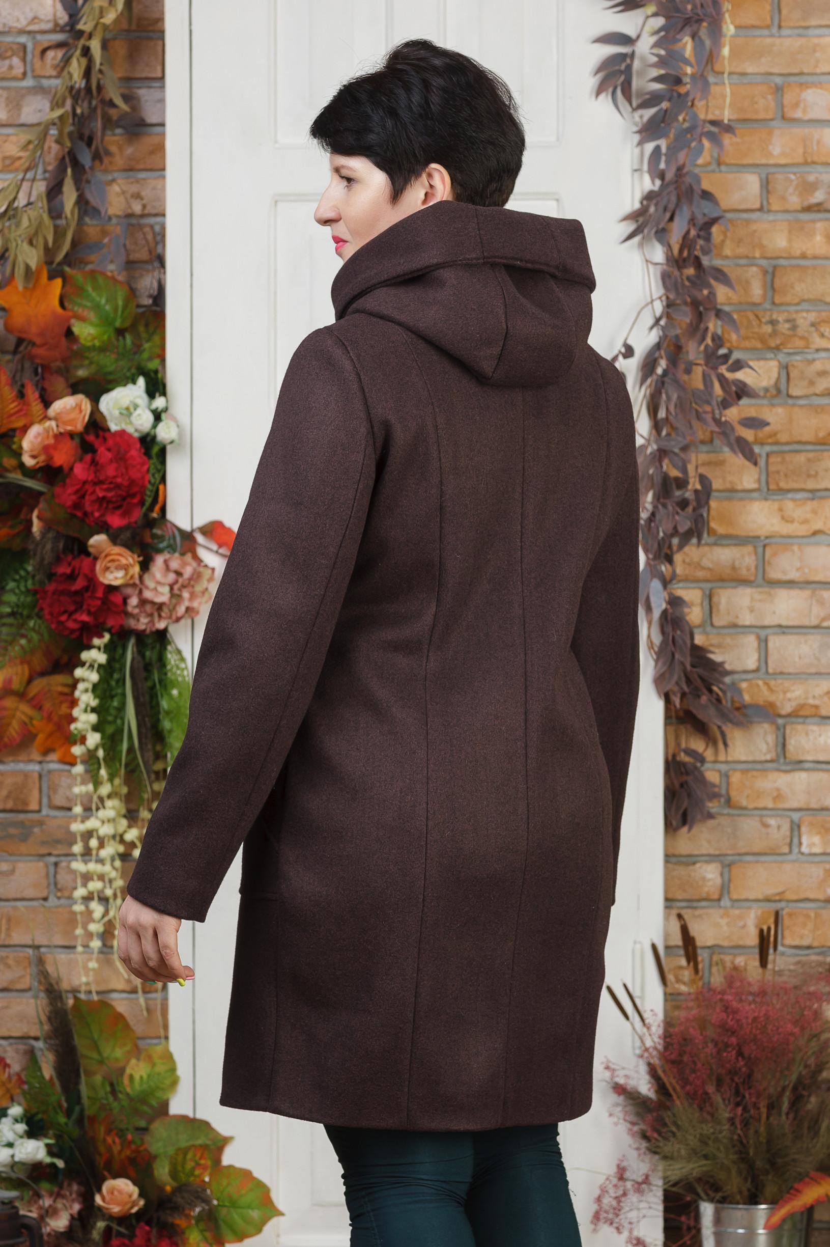 Женское пальто Урса бордо