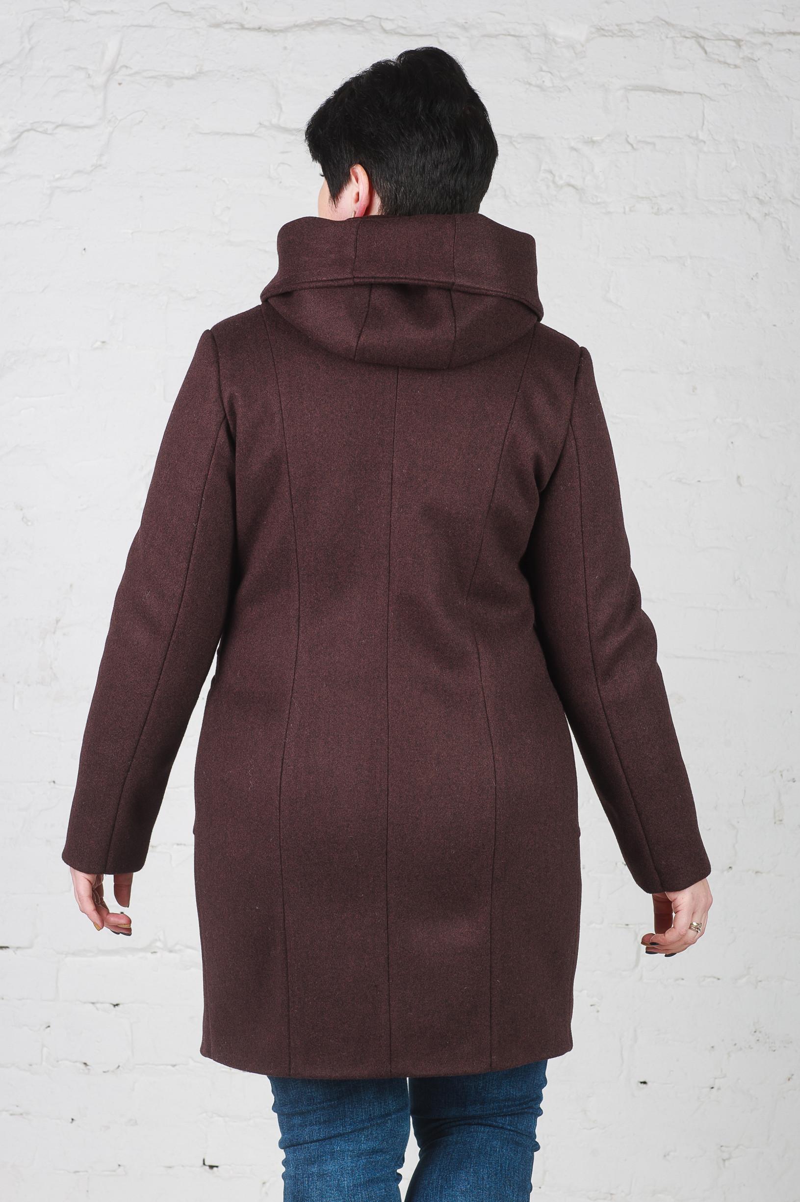 Женское пальто Мери шоколад
