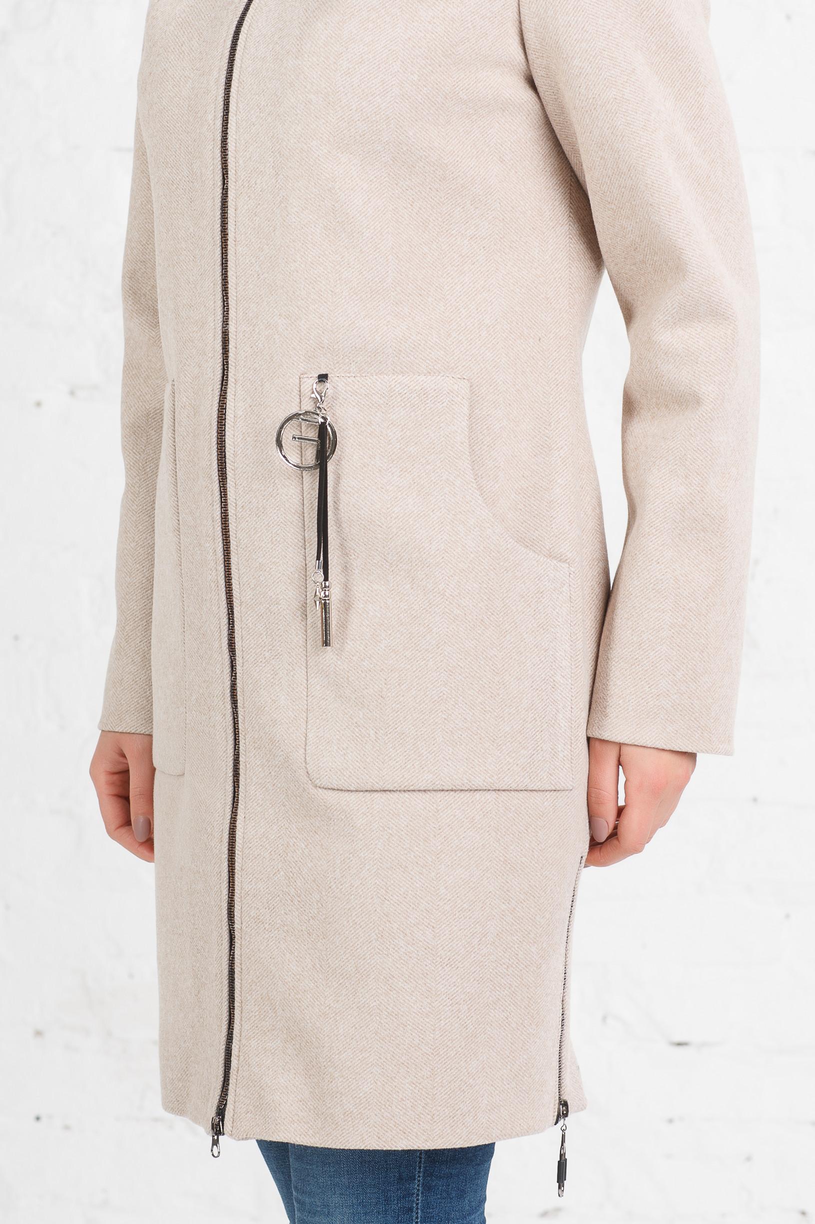 Класическое весеннее пальто Беата беж