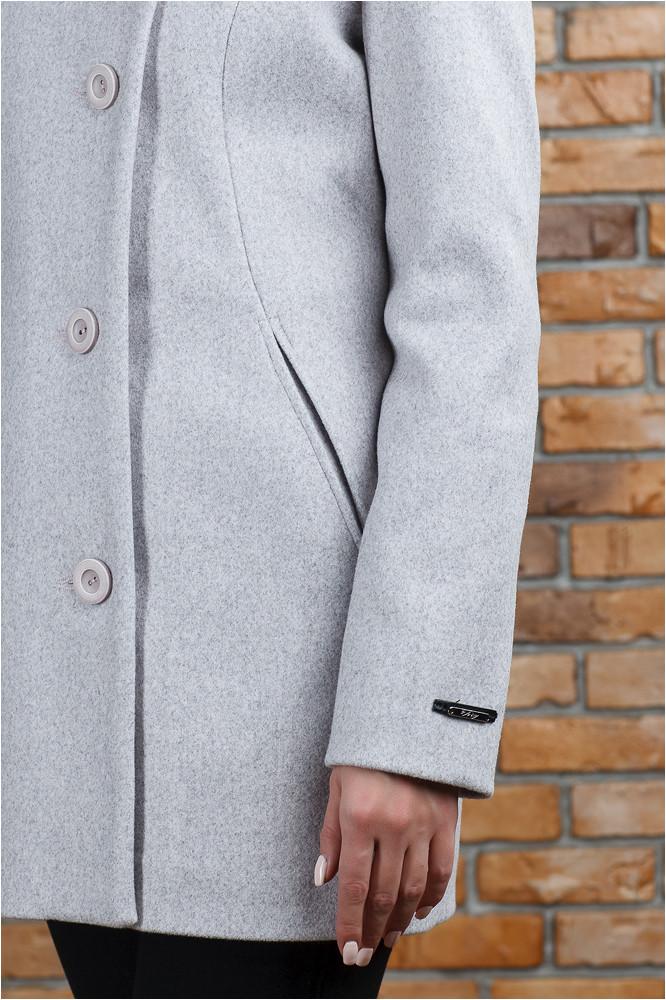 Стильное весеннее пальто Керол пудра