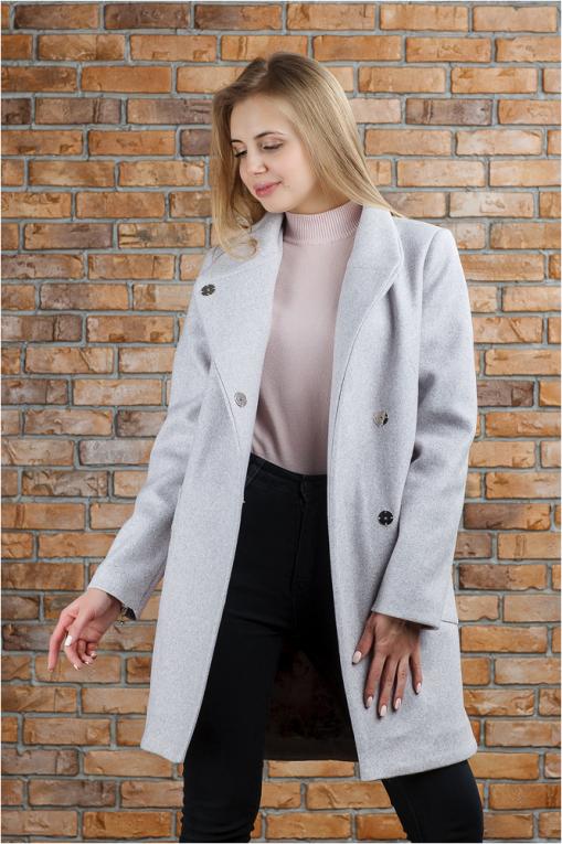 Трендовое пальто Полли пудра