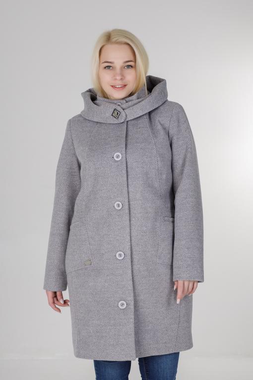 Женское пальто Мери серое