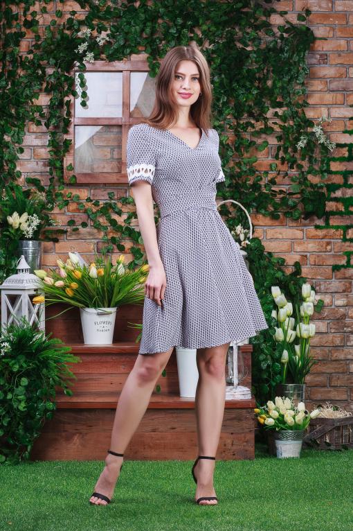 Воздушное платье п-6360